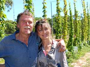 Are these locals Queensland's only commercial hops growers?