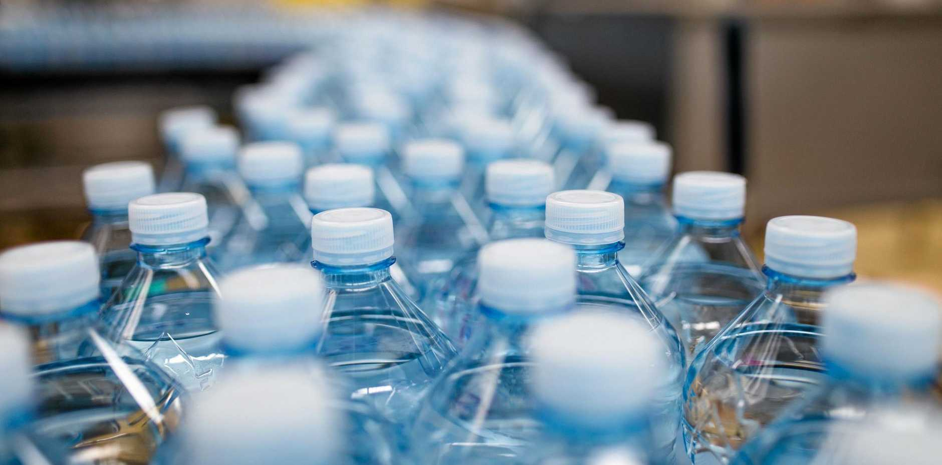 The safety of bottled water has been called into question.