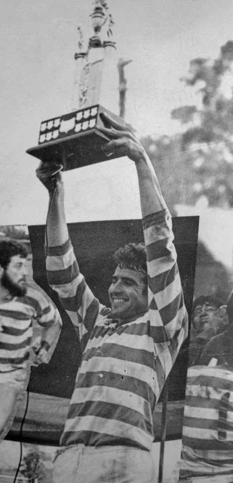 CHAMPION: Paul Plunkett was one of the finest centres on the North Coast.
