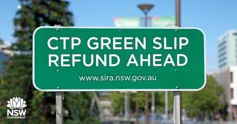 Many drivers will receive refunds on their green slips in the coming months.