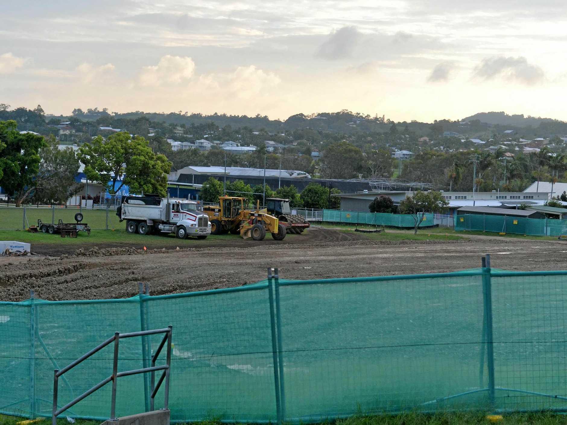 New building development at Eimeo Road State School.