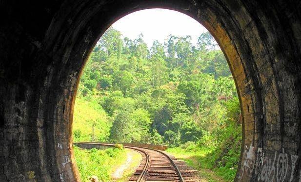 OPPORTUNITY KNOCKS: The rail tunnel near Many Peaks.