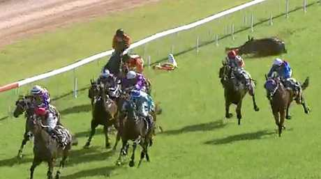 INJURED: Jockey Kirk Matheson was injured in a fall during racing at Clarence Valley Jockey Club.