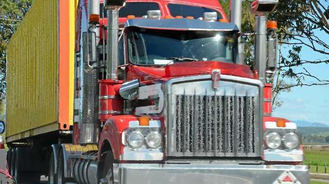 truck, generic, stock, highway,  Kenworth