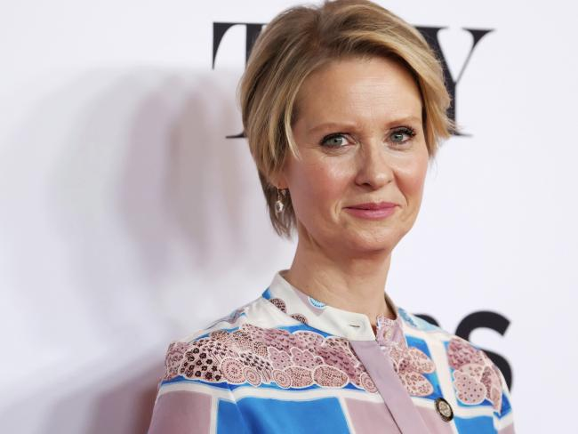 Cynthia Nixon has political ambitions. Picture: Charles Sykes/Invision/AP