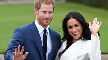 Prince Harry and Meghan Markle choose their wedding cake
