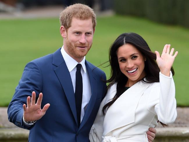 Will Lifetime re-enact the couple's famous engagement wave? Picture: AP