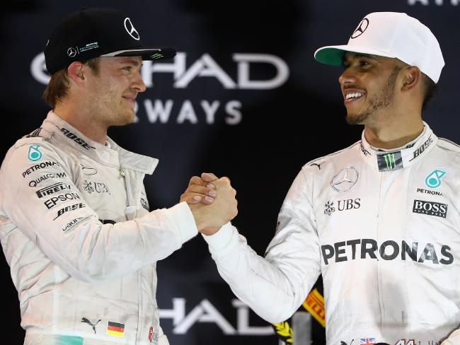 Rosberg got the better of Hamilton in 2016.