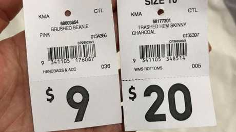 The Kmart Queen site highlights just how cheap some of her purchases are.