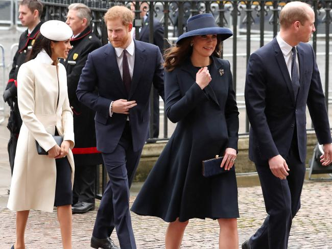 They're all covered! Lifetime has made telemovies about Kate and Wills, right, too. Picture: AFP