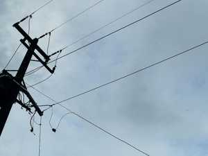 Incident damages Kingaroy power lines