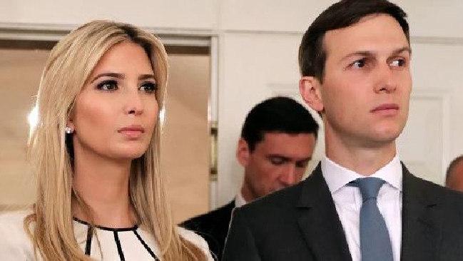 Supplied  Jared Kushner and Ivanka Trump