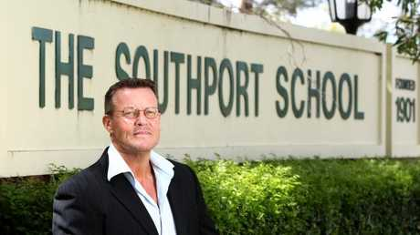 Gold Coast private investigator Bill Edgar has been the face of a campaign against TSS where he was a student. Pic by David Clark