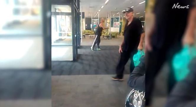 Man's racist rant at Centrelink