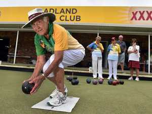Coral Turnbull from Headland Bowling Club will be