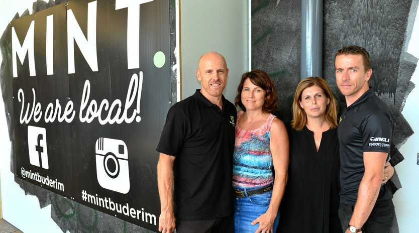 WATCH THIS SPACE: John and Maree Ratcliffe have teamed up with Ben and Kelly Brodrick to launch MINT, a new cafe in Buderim.