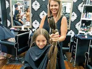 Calf-length hair gets the chop but smile remains for Willow