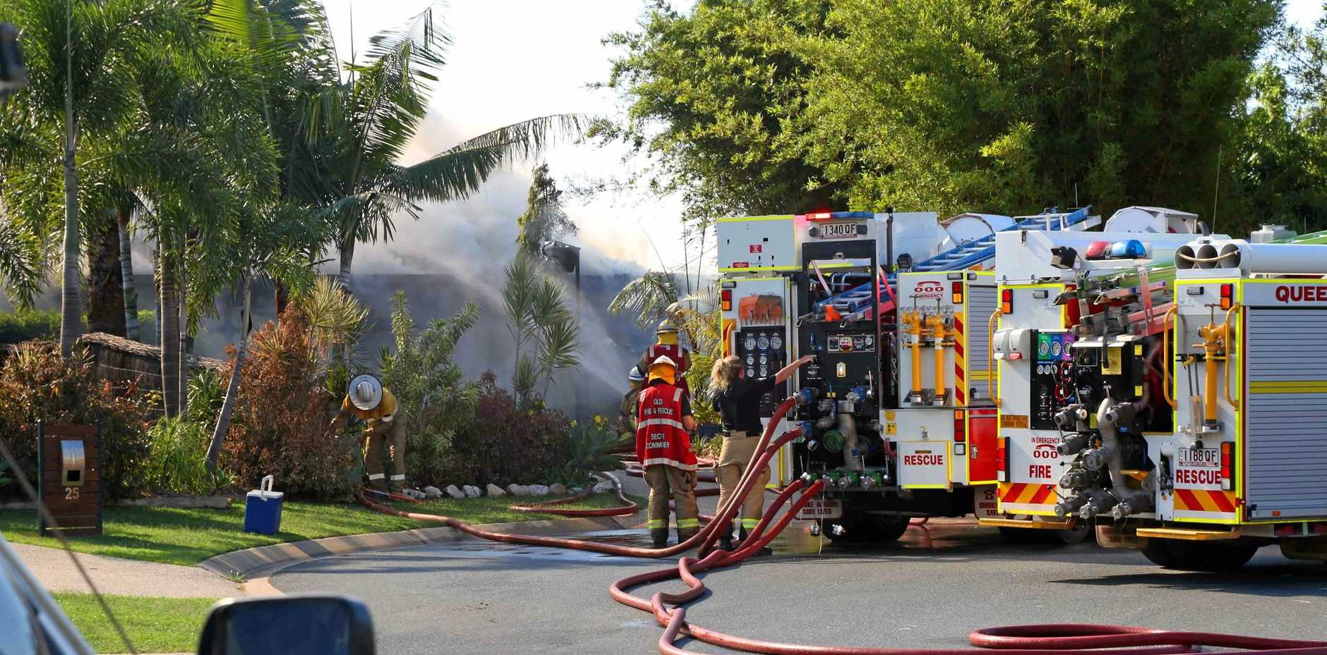A house fire at Waite Creek Court last month has spurred a push for quicker fire response times.