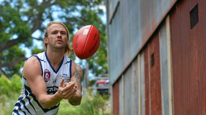 ON THE BALL: Gympie Cats' new recruit Hayden Graham.