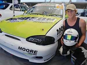 Driver loves the adrenaline rush at Morgan Park Raceway