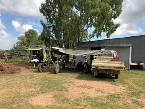 Man injured in freak horse accident on property