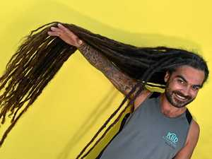 Coast man's dreaded haircut to raise money for a cause