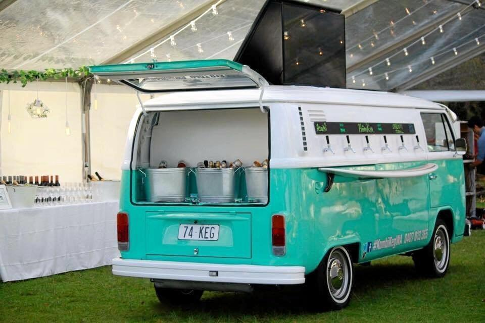 Kombi Keg is about to roll out in the Mackay Whitsunday region.