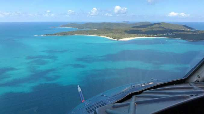 BREAKING: Helicopter crashes on Great Barrier Reef