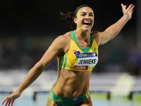 Jenneke is hoping for more smiles on the Gold Coast.