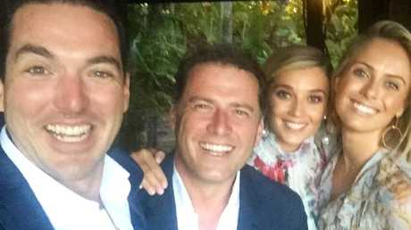 Stefanovic brothers with their partners Jasmine and Sylvia.
