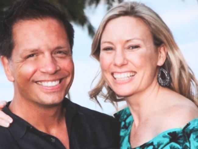 Justine Damond with her fiance Don Damond.