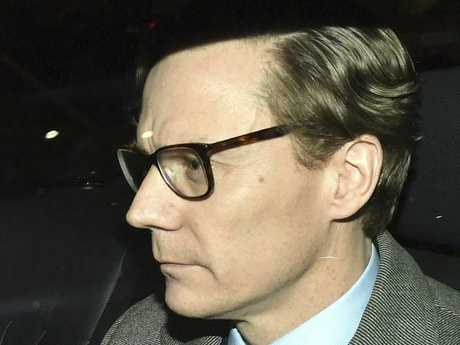 Chief Executive of Cambridge Analytica Alexander Nix, leaves the offices in central London, Tuesday March 20, 2018. Picture: Dominic Lipinski