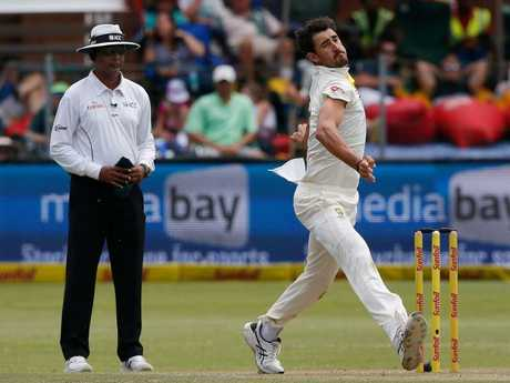 Australia's bowler Mitchell Starc is expected to line up for Australia.