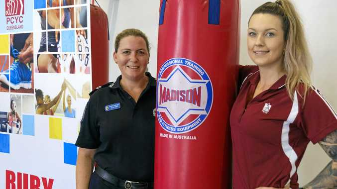 RISE UP: Senior Constable Julie Jones and PCYC Fitness Instructor Nikki Toovey have seen great improvements from participants.
