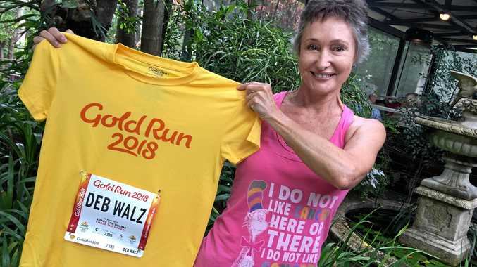 STRONG: Verrierdale's Debra Walz will run for Bloomhill Cancer at the Commonwealth Games on April 15.