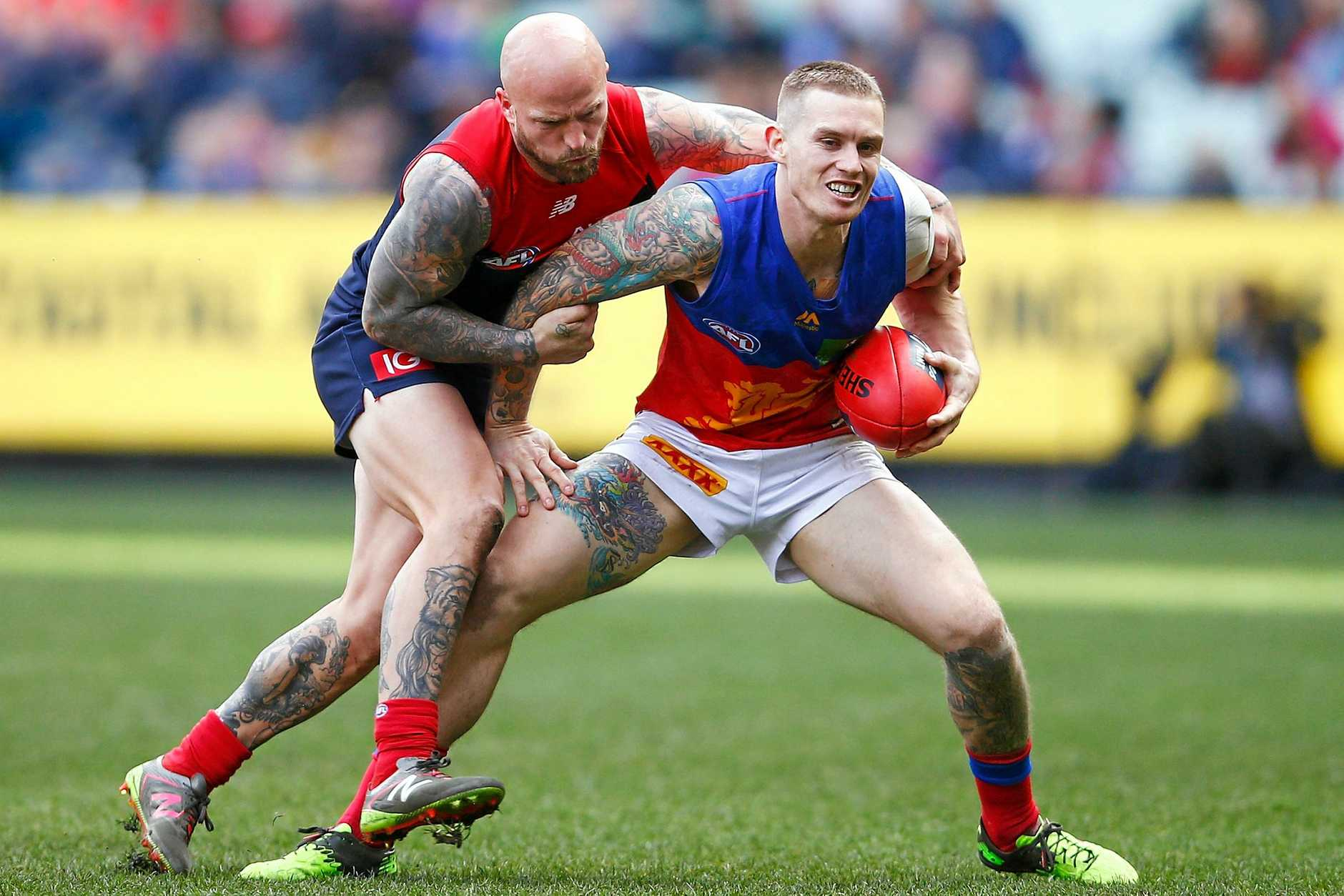 PLAYING FOR PRIDE: Dayne Beams will play a key role for the Lions, who coach Chris Fagan has compared