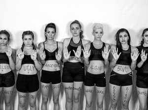 Rockhampton models spell out powerful message