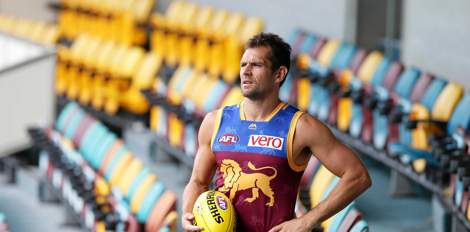 LION UP: Luke Hodge provides the Brisbane Lions with an injection of experience.