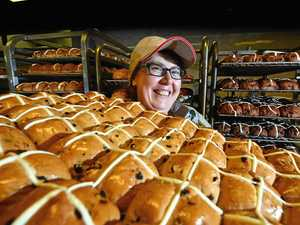 Hot cross bun-anza as tonnes of treats fly off shelves