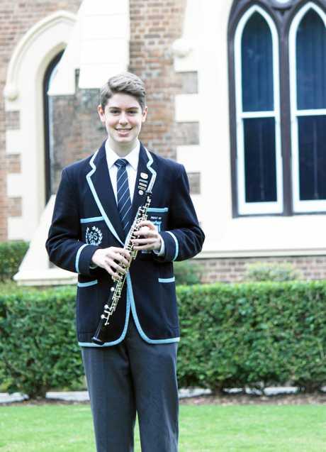 Former Rockhampton boy Angus Woods makes it to Harvard via Brisbane Grammar School.