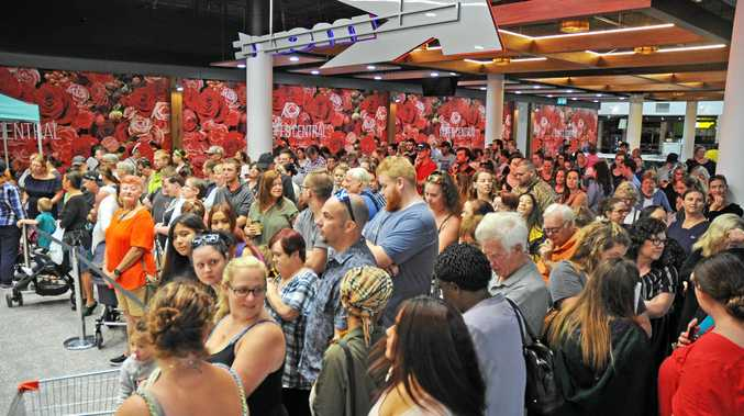 Kmart draws large crowd to opening