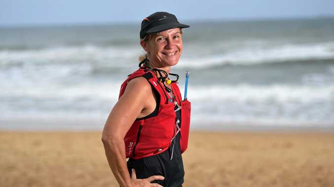 IN TRAINING: Currimundi State School head of curriculum Bettina Houtsma is preparing for a 250km run over six days in the Australian outback to raise funds for type 1 juvenile diabetes research.