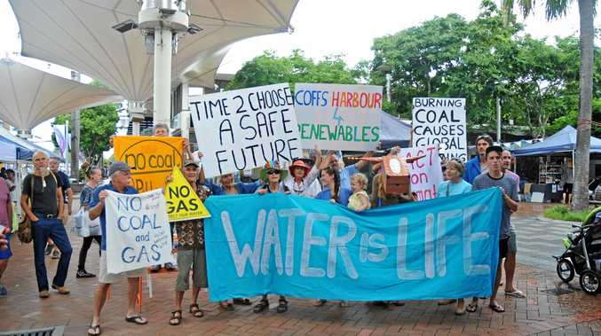 Climate protesters turn heads in Coffs CBD march