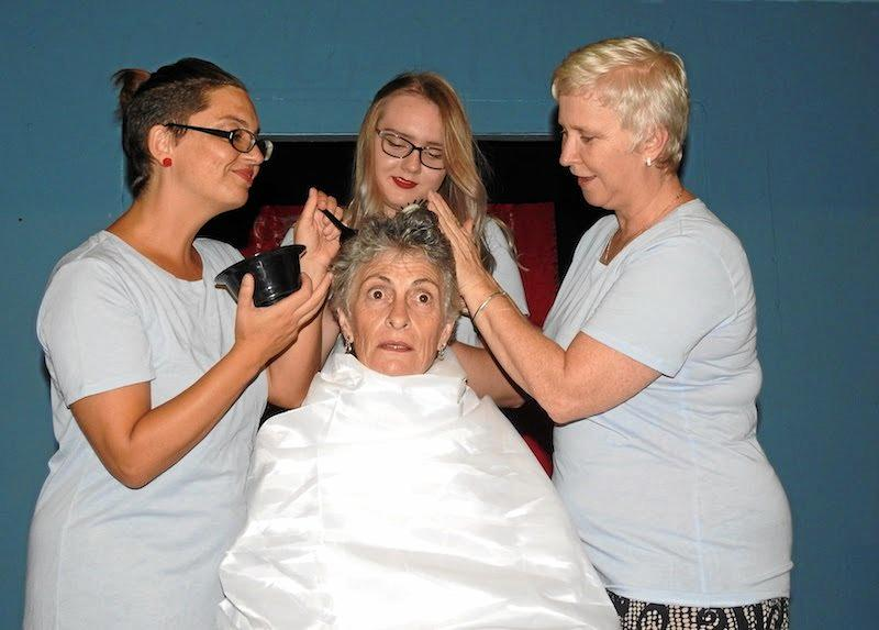 COMING SOON: In Lipstick Dreams, four women from the Blue Heaven Hairdressing Salon dream of downing their hairbrushes and taking up microphones at the local talent night.