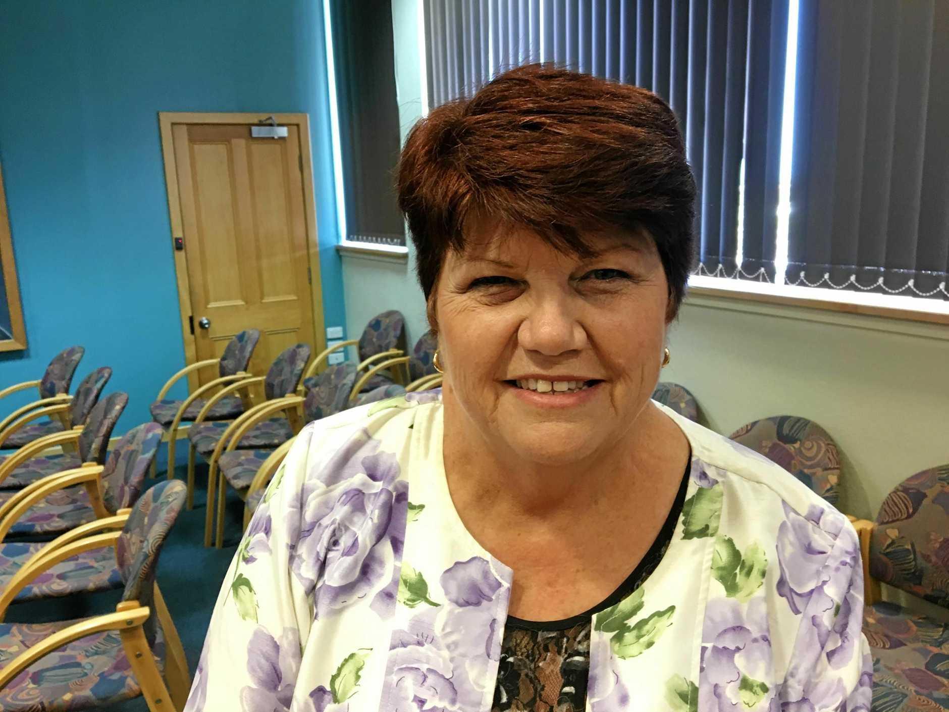 Former Gladstone Region councillor Maxine Brushe.