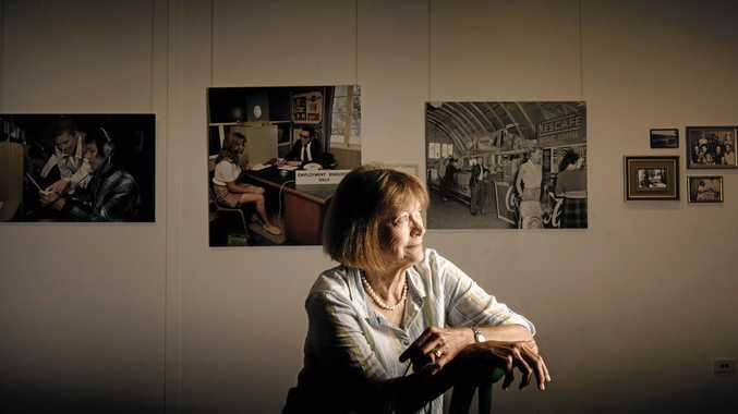 Jude McBean, retiring as Grafton Regional Gallery director.