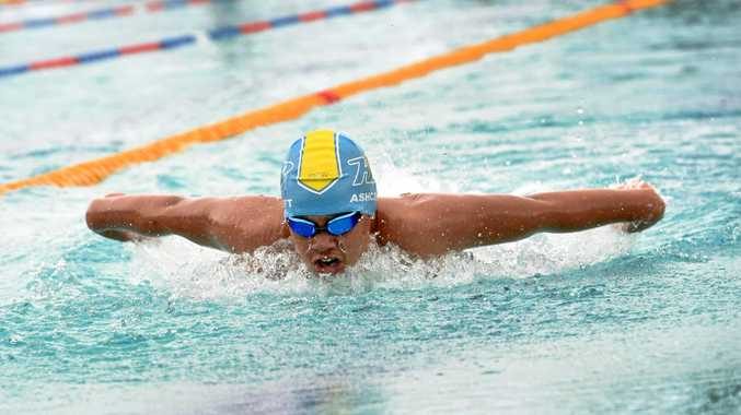 Coast's superfish stuns at state school swimming titles