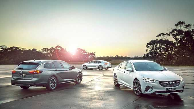 NEW BREED: The 2018 Holden Commodore has been sourced from Europe, and is available with a choice of three engines, two four-cylinder petrol and diesel front-wheel drives, as well as a V6 all-wheel drive.