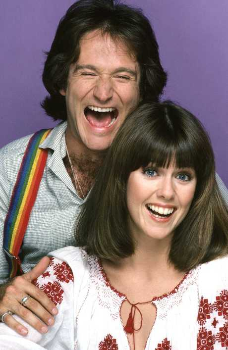 Robin Williams 'flashed, humped and grabbed' Mork and Mindy co-star Pam Dawber, she says, but it made her laugh. Picture: Jim Britt/ABC