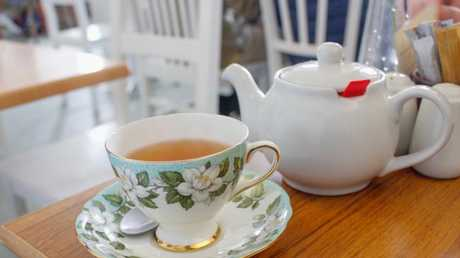 Tea, including green tea contains caffeine so stick to herbal teas — lemon and ginger, camomile, rooibos — of an evening.